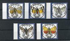 BUND Nr.1602-1606 ESST BERLIN 9.4.1992 - SCHMETTERLINGE !!! (129313)