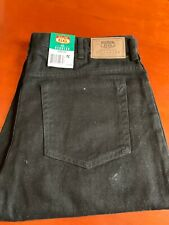 Black Jeans Men's Route 66 Regular 38x30 New With Tahs