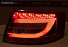 Taillights For Audi A6 4F C6 04-08 Tube LED Red Crystal tail Rear Light  Lamp