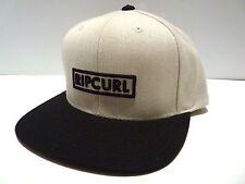 NEW RIP CURL Men's RC POINT SNAP BACK BASEBALL CAP HAT 1sz Adjustable Z479