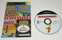NAMCO MUSEUM - Original Microsoft Xbox Game - 2002 - Perfect/Mint - Disc ONLY