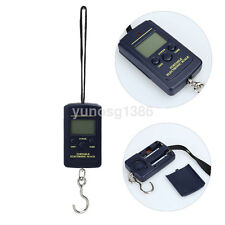 40Kg x 10g Digital Fishing Hanging Luggage Weight Weighing Hook Pocket Scale Hot