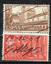 Spain Famous Architecture Guadelupe Monastery stamps 1959