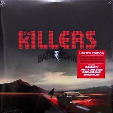 The KILLERS BATTLE BORN - 2lp/RED VINYL - 180g-oversize Book + Poster