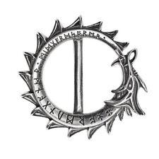 Alchemy Gothic (Metal-Wear) Jormungand Pewter Belt Buckle BRAND NEW