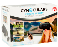 Cynoculars 3D Virtual Reality Headset Wireless Gaming Remote Compatible