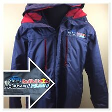 Red Bull Frozen Rush Heavy Mountain jacket XL mens blue Racing Rare Limited