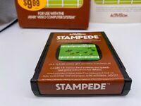 Atari 2600 Activision Stampede Complete w/ Box & Manual