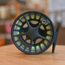 Lamson liquid 1.5 Fly Reel - Black - With Fly Line Included!