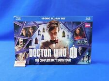 Doctor Who The Complete Matt Smith Years 16-Disc Blu-Ray Set 2014 Bbc Complete