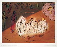 MUSEUM ART PRINT Abraham et Les Trois Anges Marc Chagall