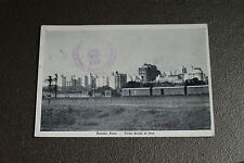 Old Vintage Postcard Buenos Aires View from Train Argentina S. America RPPC 1947