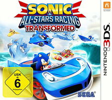 Sonic & All-Stars Racing Transformed 3DS (Nintendo 3DS) NEU OVP