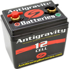 """ANTIGRAVITY 12-CELL LITHIUM MOTORCYCLE BATTERY 4.50"""" x 3.12"""" x 4.25""""  2.4 lbs"""