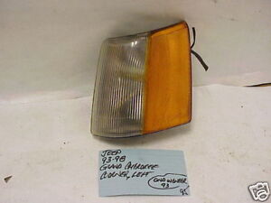 JEEP GRAND CHEROKEE 93-98 JEEP GRAND WAGONEER 93 CORNER LIGHT DRIVER LH LEFT OEM