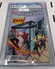AMAZING SPIDER-MAN VOL. 3  #1 ZAPP! COMICS EXCLUSIVE VARIANT CGC 9.8