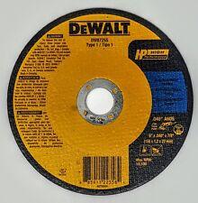 "(Caja de 25) Dewalt DW8725S 6"" X .040 ""X 7/8"" Metal/acero inoxidable corte ruedas"