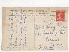 Master Harry Combes Cambridge Road Barnes 1911 430a