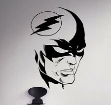 Flash Wall Decal Comics Superhero Vinyl Sticker Removable Home Art Decor 78(nse)