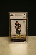 2005-2006 UPPER DECK 'SIDNEY CROSBY' #18 'PHENOMENAL BEGINNINGS' BCCG 10