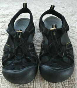 Keen Venice Women's Black Gray Waterproof Sport Water Sandal Athletic Size 9