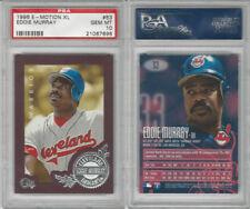 1996 Fleer E-Motion Baseball, #53 Eddie Murray HOF, Indians, PSA 10 Gem