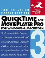 Quicktime 3 & Movieplayer Pro (Visual QuickStart Guide)