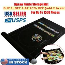 US Felt Storage Mat Jigsaw Puzzle Roll Up Puzzle Storage Up To 1500 Pieces Game