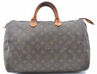 Authentic Louis Vuitton Monogram Speedy 35 Hand Bag Old Model LV B7821