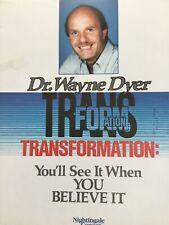 Dr. Wayne Dyer. Transformation. 6 Cassette Tapes Set.