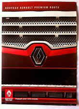 Brochure Commercial Renault Trucks Nouveau Premium Route