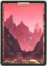 Montagne - Mountain Unhinged (Unglued 2) - Full Art Textless - Mtg Magic -