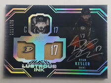 2016-17 BLACK LUSTROUS INK AUTO RYAN KESLER  111/175