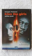 DVD MOVIE KISS THE GIRLS MORGAN FREEMAN ASHLEY JUDD THRILLER PROVOCATIVE USED