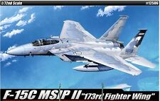 Academy 1/72 F-15C MSIP II 173rd Fighter Wing Plastic Model Kit Military 12506
