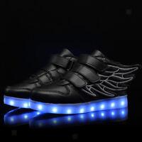 Chaussure de Sport LED Lumière Clignotant 7 Couleurs Changement avec