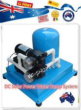 12V DC Solar Power House Household Water Pump System 34L
