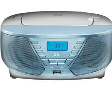 OK. ORC311 - BL Tragbarer Radiorecorder CD Player USB Hellblau