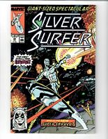 SILVER SURFER SUPER-SKRULL? #25 1989 MARVEL COMIC.#115536D*12