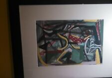 JOSEF PRESSER (1909-1967)  Abstract -- Gouache/Watercolor circa 1930/1940's