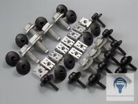 1x Unterfahrschutz Einbausatz Unterboden Repair Kit für Audi Seat Skoda VW
