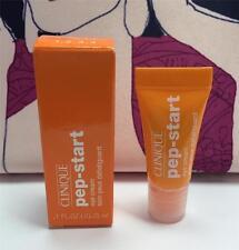 New in Box Clinique Pep-Start Eye Cream Deluxe Sample Size 0.1oz/3ml
