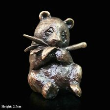 Panda Solid Bronze Foundry Cast Detailed Sculpture by Butler & Peach [2062]