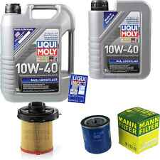 Inspection Kit Filter LIQUI MOLY Oil 6L 10W-40 for Citroën Zx N2 1.6i