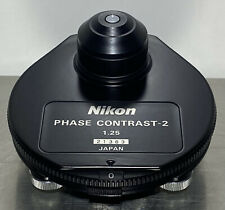 Nikon Phase Contrast 2 125 Turret Condenser For Labophot 2 Microscope Read