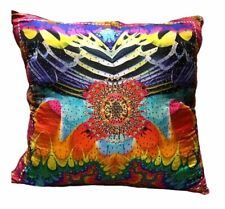 new CAMILLA FRANKS SILK RAINBOW GATHERING LARGE CUSHION  .