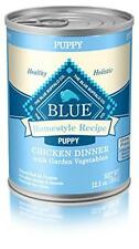 Blue Buffalo BLUE Homestyle Recipe Puppy Chicken Dinner (Pack of 12, 12.5 oz can