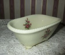 **VB ATHENA FLORAL BOUQUET BATHTUB SOAP DISH USA**