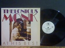 THELONIOUS MONK  At His Best   LP  Jazz   Lovely copy !!