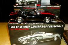 1968 CHEVROLET CAMARO Z/28 CONVERTIBLE TOMS GARAGE 1:18 BLACK RED RALLY ACME GMP